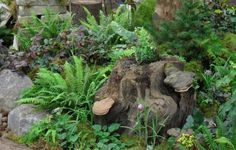 ... stumperies garden decorations and yard landscaping ideas recycling wood ...