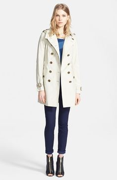 Chic trench coat #nordstromclearance