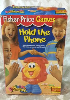 Fisher-Price Hold the Phone Electronic Talking Matching game #FisherPrice