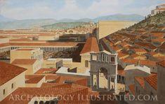 Ephesus, eastern Turkey, Civic center and Forum, 2nd century AD