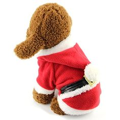 Santa Puppy is coming! Pet Dog Cat Durable Fleece Hooded in SantaCostume - Pokemon Pet Costumes: http://www.www.www.iwantpokemon.comproduct/mewtogo-pet-dog-cat-durable-fleece-hooded-costume-cat-dog-turned-funny-cold-weather-clothes-two-legs-santas-pokemon-pet-costumes/ [ www.iwantpokemon.com - Pokemon store with over 5000 Pokemon Products]