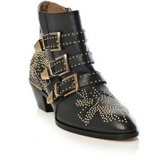 Been always on my mind! #chloe Suzanna Studded Ankle Boot