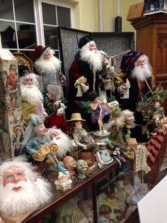 Santa's headquarters in Olympia. Father Christmas, Christmas In July, Handmade Christmas, Vintage Christmas, Christmas Wreaths, Christmas Crafts, Christmas Decorations, Christmas Ideas, Original Santa Claus
