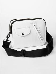 Pocket leather crossbody | Gap