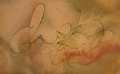 Roann Mathias Calligraphy: Gestural Writing with Yves Leterme at conference