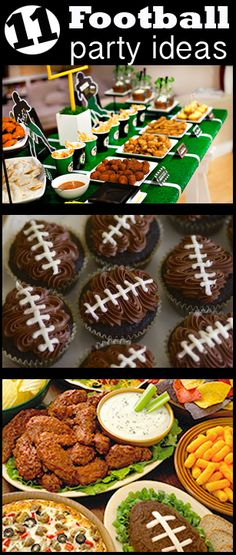 Football Season DIY Party Ideas