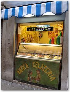 Gelato Shop - Venice, Italy