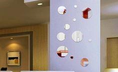 kit 15 espejos circulares - redondos ideal decoracion