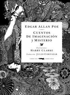 Hacia 1917, el eximio artista irlandés Harry Clarke emprendió uno de los trabajos que determinaría su fama: la ilustración de Tales of mystery and imagination, una antología de los más altos relatos de Poe preparada por la editorial Harrap. La edición, publicada en Londres en 1919, fue reconocida inmediatamente como una de las joyas bibliográficas de la época. .    Formato: 18 x 24,5 cm. Cartoné con sobrecubierta 424 páginas.     ISBN: 978-84-92412-14-3