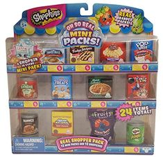 Shopkins Oh So Real - National Brands Real Shopper Pack (Style Toys For Girls, Kids Toys, Shopkins Food, American Girl Doll Sets, Barbie Toys, Mini Things, Lol Dolls, Mini Foods, Monster High Dolls