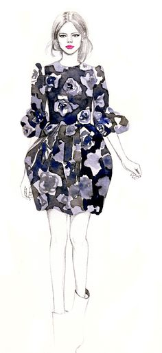 Teri Chung's Illustrations Teri Chung Illustration-lanvin – Trendland: Fashion Blog & Trend Magazine