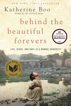 now reading: behind the beauyiful forevers.