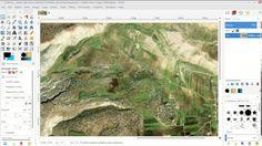 Basic Qulatiative Image Analysis with GIMP