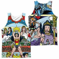 Justice League No 1 Cover Sublimation Tank Top