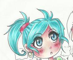 Kolorowanie kredkami, - Kurs rysunku mangi - PolskaManga.pl - manga i anime w Polsce i na świecie