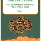 This file contains a cover and 3 types of filler paper for a Turkey shape book. I am planning on having my students use their notebooks for relativ. Thanksgiving Writing, Thanksgiving Turkey, Shape Books, Little Books, Mini Books, Notebooks, Students, Shapes, How To Plan