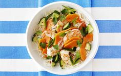 Papaya, Prawn, Vermicelli Noodle And Cucumber Salad recipe - Marie Claire Magazine - Yahoo!7 Lifestyle