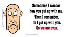 Sometimes I wonder… – Quotes 2 Remember