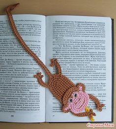 marcadores de libros crochet - Buscar con Google
