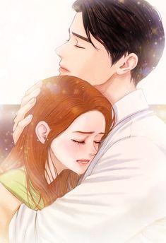 45844 Du Gehörst Mir, Manga Couple, Anime Love Couple, Couple Cartoon, Cute Anime Couples, Manga Anime, Arte Anime, Webtoon, Cute Couple Art
