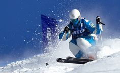 mogul skiing