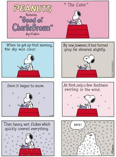 Peanuts by Charles Schulz for Jan 14, 2018 | Read Comic Strips at GoComics.com
