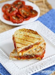 Roasted tomato & grilled cheese sandwich   allParenting.com