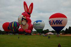 Hot air balloons @ Eyes to the Skies