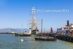 Have you ever wondered what it'd be like to sail around the world? Visit the San Francisco Maritime National Historical Park at #AILConvention2014!