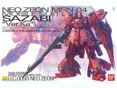 1/100 MG MSN-04 Sazabi Ver. Ka by Bandai