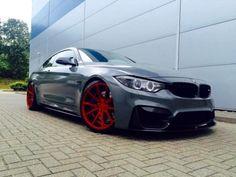 "2014 14 Reg BMW M4 3.0 Coupe + STUNNING SPEC + BODY STYLING + 20"" VOSSEN ALLOYS"
