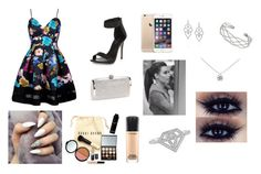 """""""Special day at my first red carpet or prom"""" by daisygirl-362 ❤ liked on Polyvore featuring New Look, Tiffany & Co., Wallis, Stephen Webster, MAC Cosmetics and Bobbi Brown Cosmetics"""