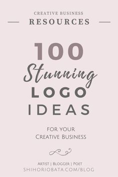 100 Logo Design Ideas for your creative business: Premade logo ideas Inbound Marketing, Business Marketing, Content Marketing, Media Marketing, Digital Marketing, Marketing Logo, Marketing Quotes, Marketing Ideas, Branding Your Business