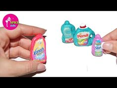 how to: miniature cleaning products