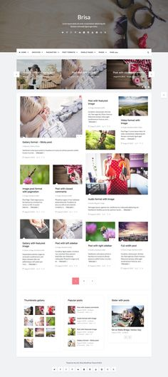Brisa – Responsive WordPress Blog Theme