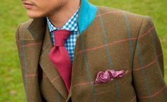 Fabulous pattern mixing and color