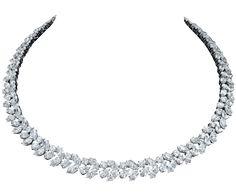 Winston™ Cluster by Harry Winston, Diamond Necklace