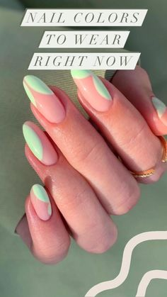 Classy Almond Nails, Almond Nails French, Almond Acrylic Nails, Cute Acrylic Nails, Almond Shape Nails, Chic Nails, Stylish Nails, Trendy Nails, Summer Gel Nails