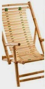 A mi manera: Sillas de playa con bambú                                                                                                                                                                                 Más