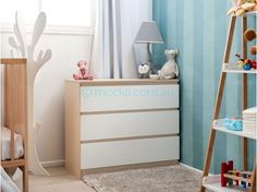 Mocka Jolt Three Drawers with Maya Ladder, Aspiring Cot, Adult Tree Hanger and Pet Lamp