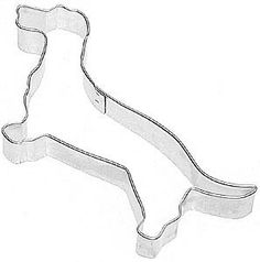 DACHSHUND DOXIE Cookie Cutter New wiener dog by KitchenCrafts, $2.95  http://www.etsy.com/listing/61067043/dachshund-doxie-cookie-cutter-new-wiener?ref=market