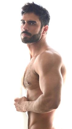Furpect, Male Model, Good Looking, Handsome, Beautiful Man, Guy, Hot, Sexy, Eye Candy, Beard, Muscle, Hunk, Hairy Chest, Abs, Sixpack, Shirtless 男性モデル