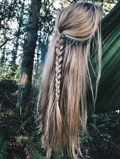 - Hair Styles For School Cute Hairstyles For Teens, Pretty Hairstyles, Braided Hairstyles, Simple Hairstyles For School, Teen Hairstyles, School Hairstyles, Aesthetic Hair, Pinterest Hair, Braids For Long Hair