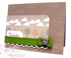 Card Club - Thanks by whats_her_name - Cards and Paper Crafts at Splitcoaststampers