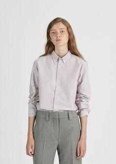 Ohio Face Striped Cotton Shirt