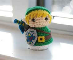 free pattern : Got a copy of Creepy Cute by Christen Haden ? Make Link from Zelda ! by Geeky Hooker - Instructables