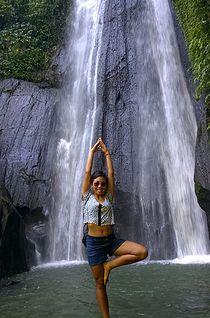 Candi Kuning Waterfall