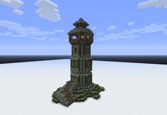Watchtower Minecraft Inspiration Minecraft Minecraft Buildings