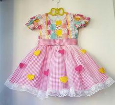 De renda na barra Little Dresses, Girls Dresses, Summer Dresses, Kids Outfits Girls, Girl Outfits, Princes Dress, My Baby Girl, Dance Costumes, Frocks