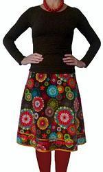 FIREWORKS - unique designed A-line skirt